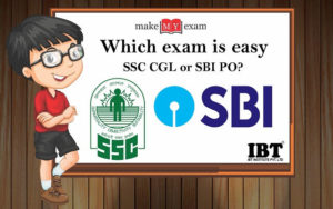 Which exam is easy SSC CGL or SBI PO?