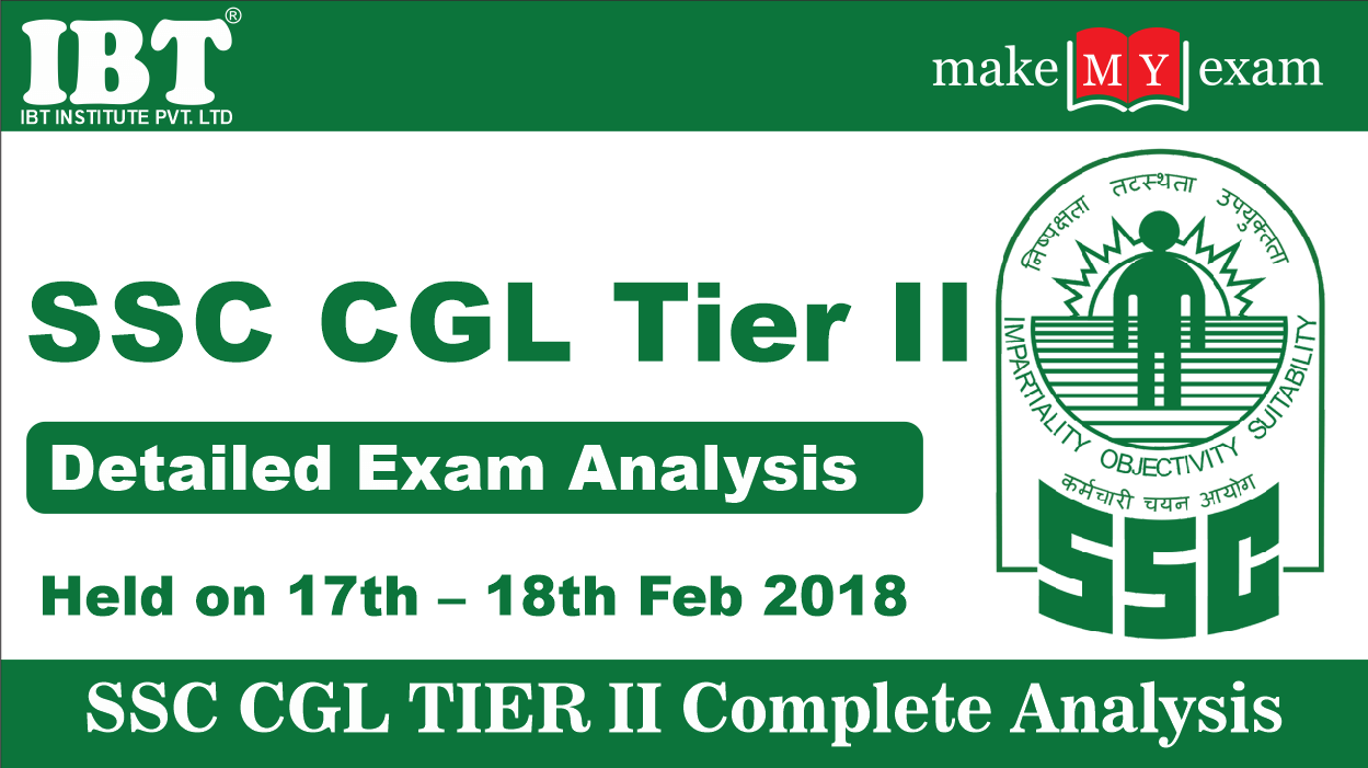 SSC CGL Tier II Exam Analysis 2018