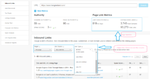 Moz OSE metrics For any Domain