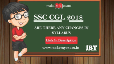 syllabus of SSC CGL 2018 exam