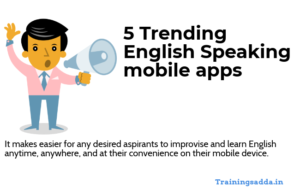 5 Trending English Speaking Mobile Apps