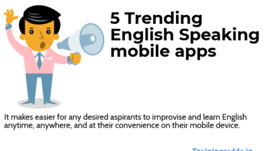 5 Trending English Speaking Mobile Apps