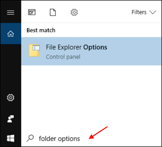 File Explorer Options