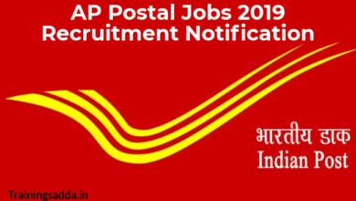AP Postal Jobs 2019 Recruitment Notification Apply Online