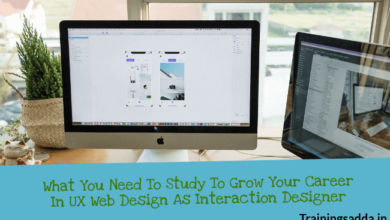 What You Need To Study To Grow Your Career In UX Web Design As Interaction Designer