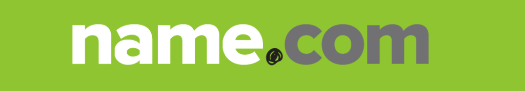NAME.COM website logo image