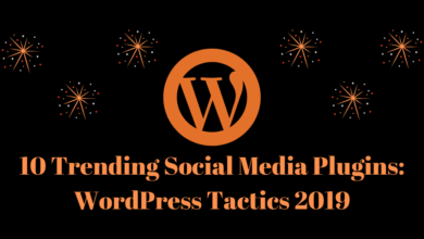 Top 10 Trending Social Media Plugins: Wordpress Themes