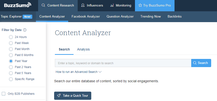 BuzzSumo Extension For SEO Experts