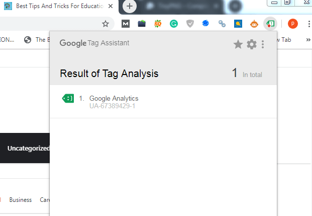 Google Tag Assistant Extension For Digital Marketing