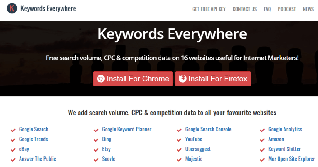 Keywords Everywhere SEO Extension For Digital Marketing Experts
