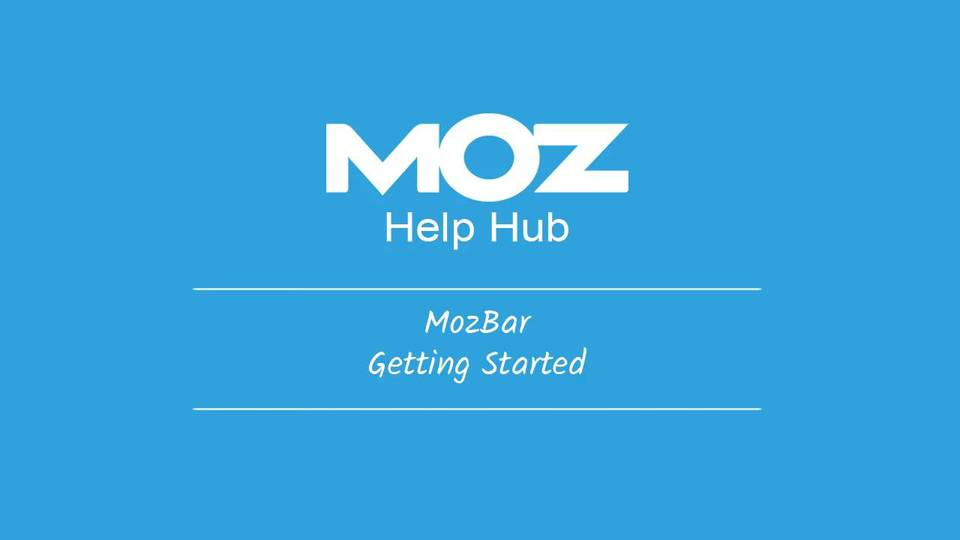 MozBar, to find out the popularity of your competitors