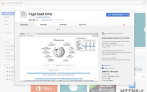 Page Load Time Extension for Chrome and Firefox