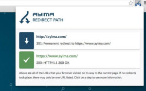Redirect Path Checker Extension for Chrome