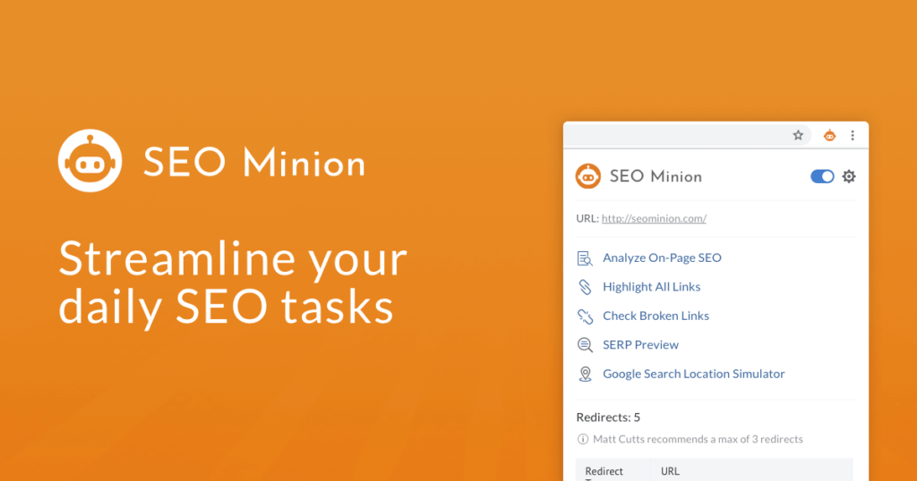 SEO Minion For Total SEO Analysis