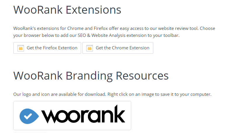 WooRank Addon or extensions for SEO