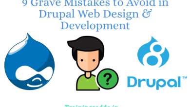 9 Grave Mistakes to Avoid in Drupal Web Design & Development