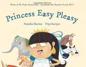 PRINCESS EASY PLEASY; Story Books For Kindergarten Kids