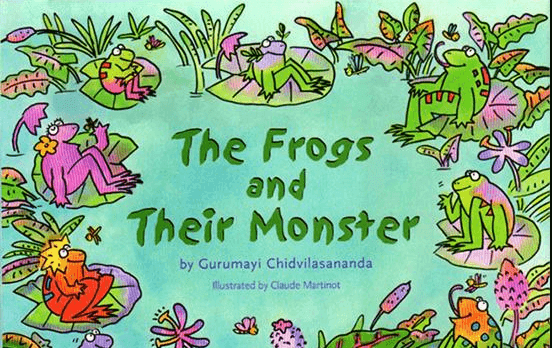 The frog and their monster