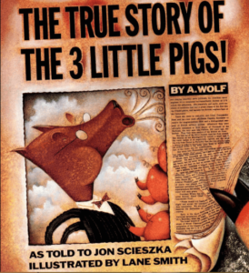 the true story of three little pigs: Story Books For Kindergarten Kids