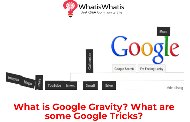 What is Google Gravity Experiment and How it Works?