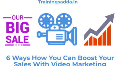 6 Ways How You Can Boost Your Sales With Video Marketing
