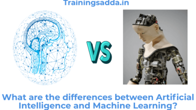 What are the differences between Artificial Intelligence and Machine Learning?