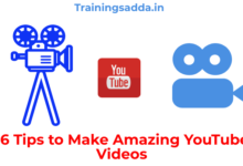 16 Tips to Make Amazing YouTube Videos