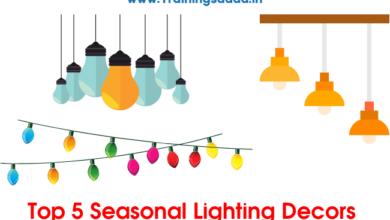 Top 5 Seasonal Lighting Decors
