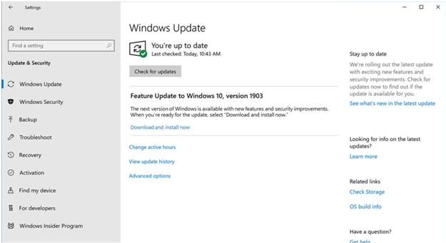 Updating Hardware Drivers On Windows 10