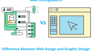Difference Between Web Design and Graphic Design