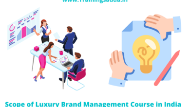 Scope of Luxury Brand Management Course in India