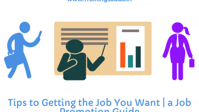 Tips to Getting the Job You Want | A Job Promotion Guide